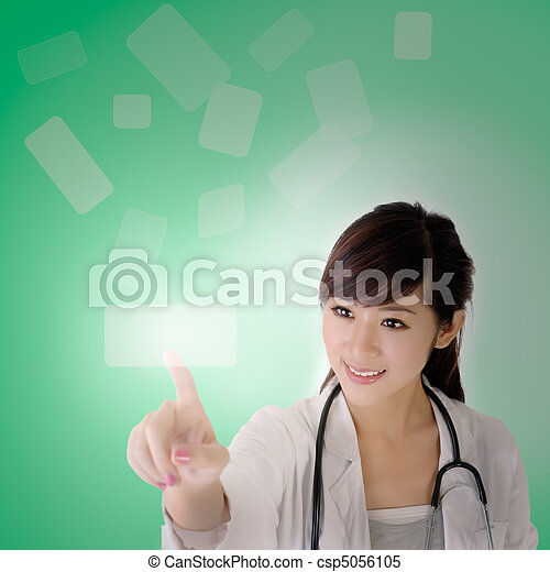 Medical doctor woman - csp5056105
