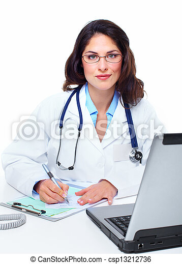Medical doctor woman. - csp13212736