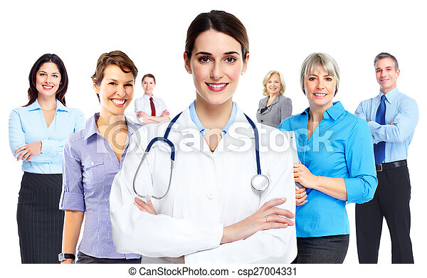 Medical doctor woman. - csp27004331