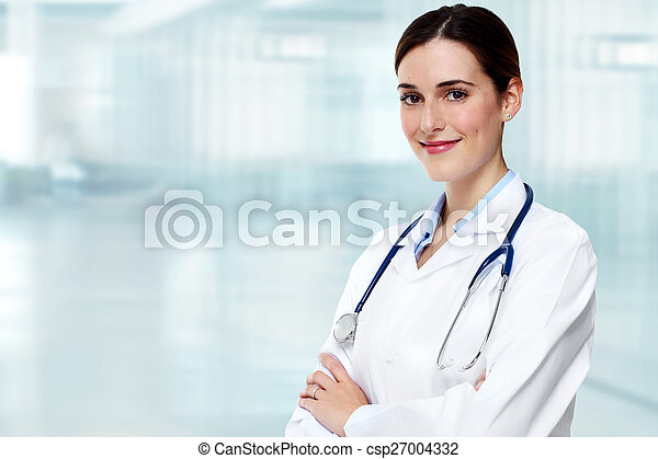 Medical doctor woman. - csp27004332