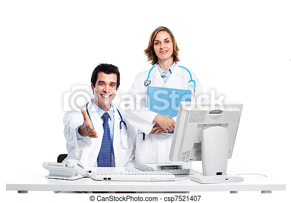 Medical doctors. - csp7521407