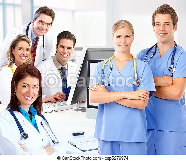 Medical doctors - csp5279974