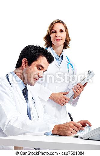 Medical doctors. - csp7521384