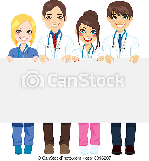 Medical Group Billboard - csp18036207