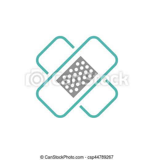 Medical healthcare symbol - csp44789267