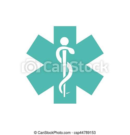 Medical healthcare symbol - csp44789153