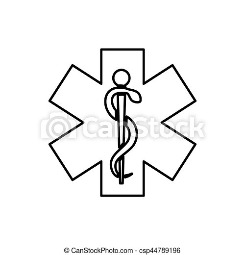 Medical healthcare symbol - csp44789196