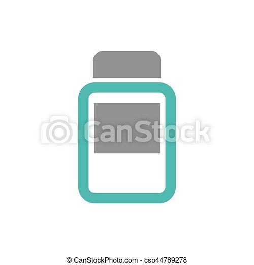 Medical healthcare symbol - csp44789278