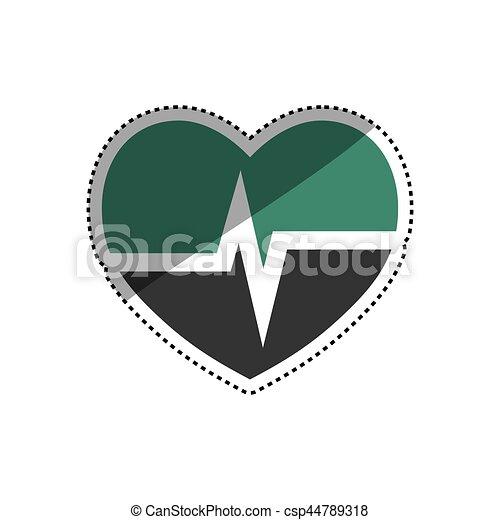 Medical healthcare symbol - csp44789318