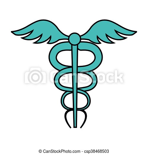 Medical healthcare theme design icon. - csp38468503