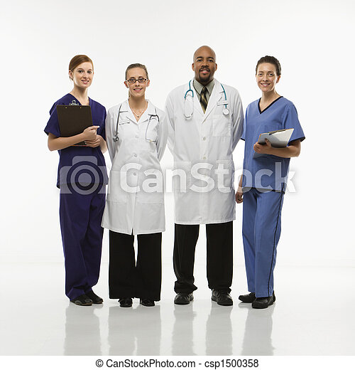 Medical healthcare workers. - csp1500358