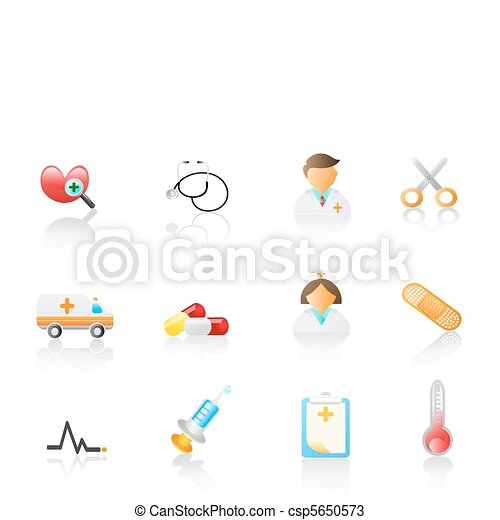 medical icon set  - csp5650573