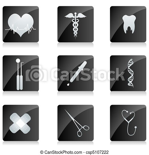 medical icons - csp5107222