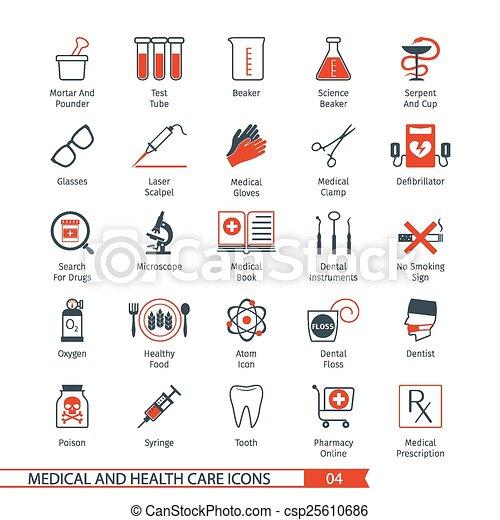 Medical Icons Set 04 - csp25610686