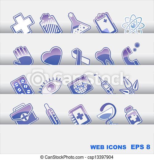 medical icons - csp13397904