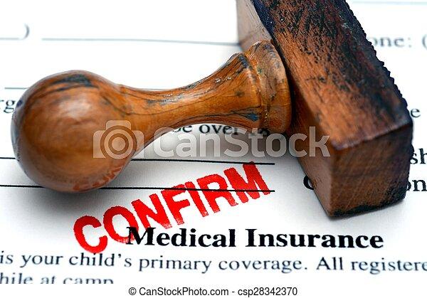 Medical insurance confirm - csp28342370