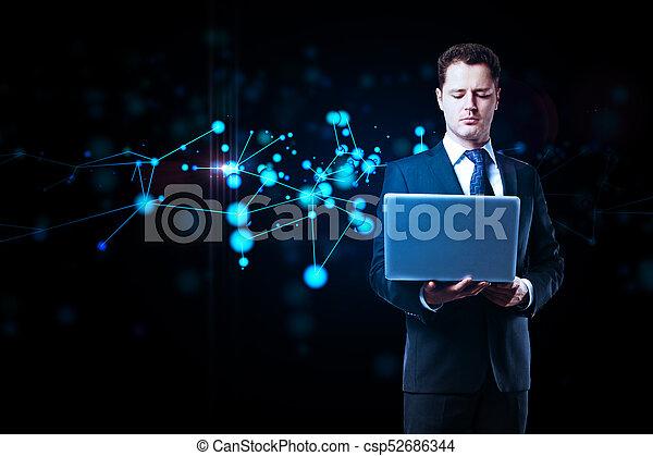 Medical interface concept - csp52686344