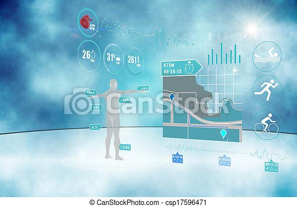 Medical interface - csp17596471