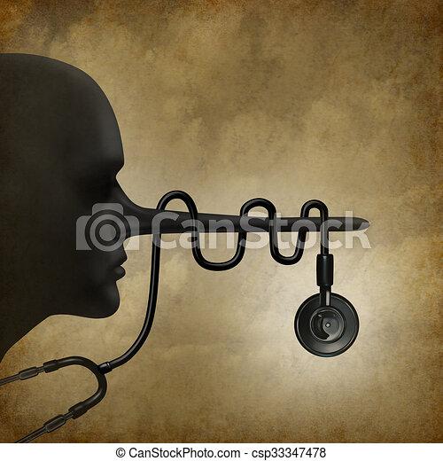 Medical Lies Concept - csp33347478