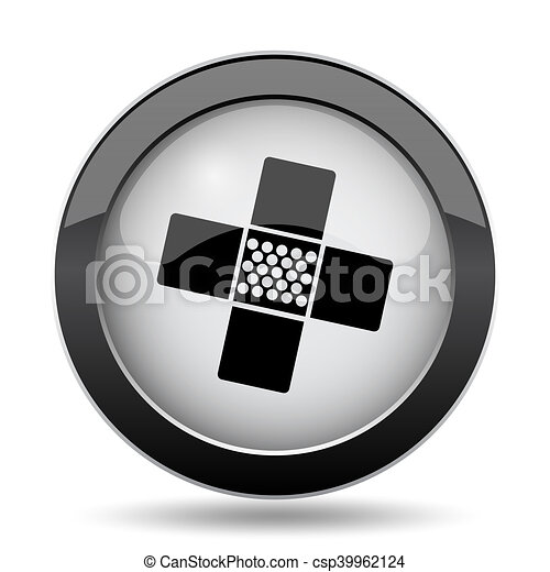 Medical patch icon - csp39962124