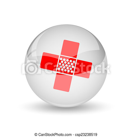 Medical patch icon - csp23238519