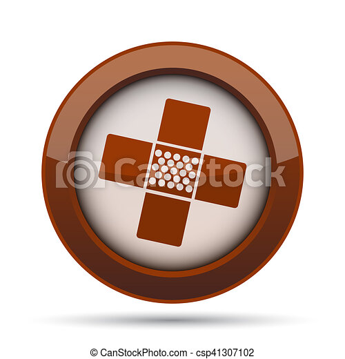 Medical patch icon - csp41307102