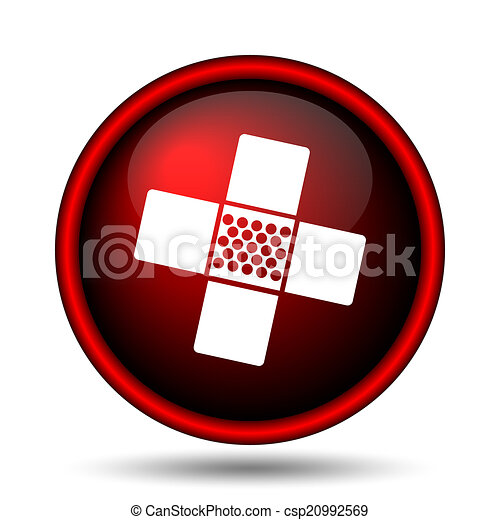 Medical patch icon - csp20992569
