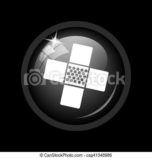 Medical patch icon - csp41048986