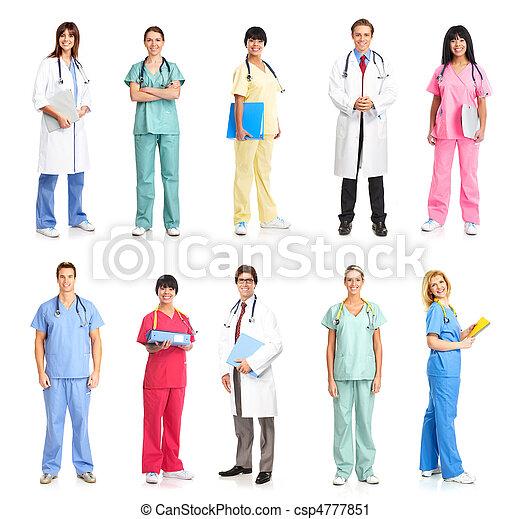 medical people - csp4777851