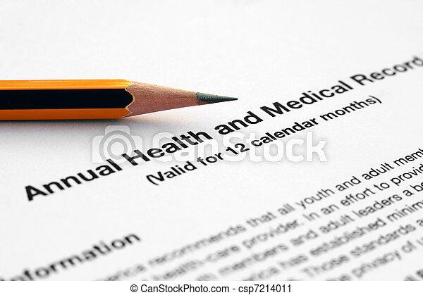 Medical record - csp7214011