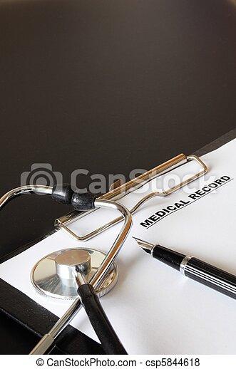 medical record - csp5844618