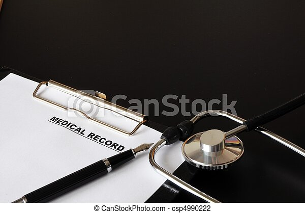 medical record - csp4990222