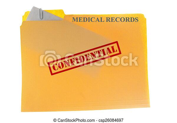Medical records - csp26084697