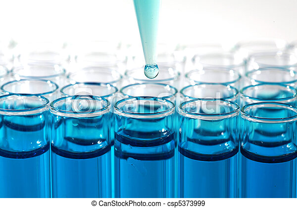 Medical Research Test Tubes - csp5373999