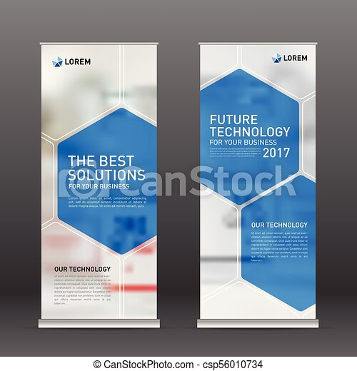Medical Roll Up Banner Design Layout Vertical Banner Design Template