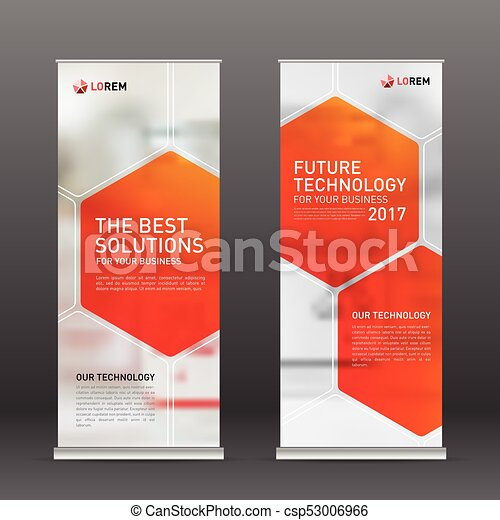 Medical Roll Up Vertical Banner Design Layout Medical Roll Up