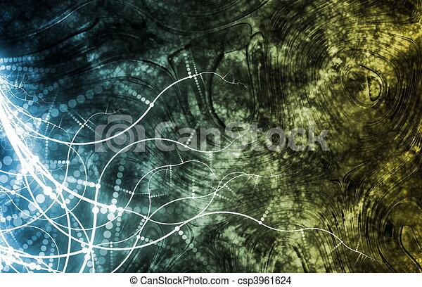 Medical Science Futuristic Technology - csp3961624