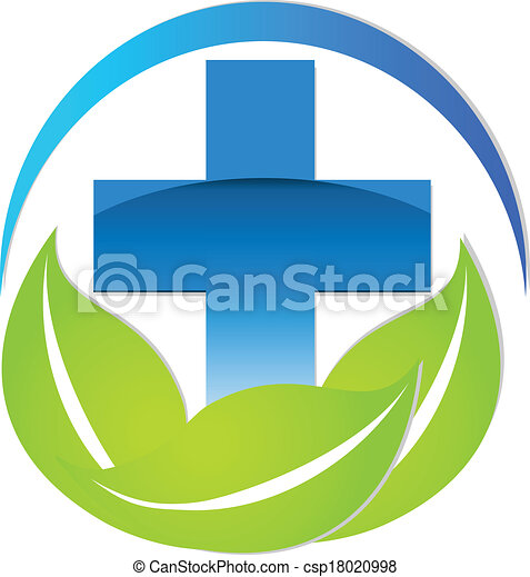Medical sign logo - csp18020998