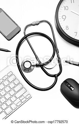 Medical still life - csp17792570