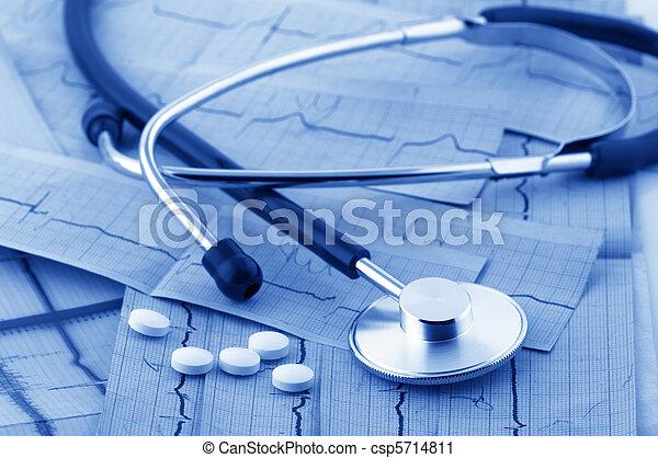 Medical still life - csp5714811