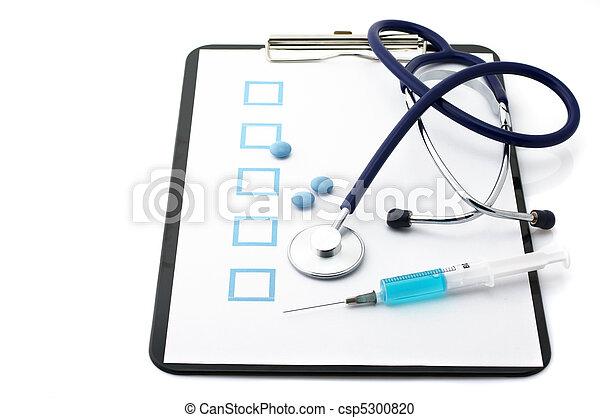 Medical still life - csp5300820