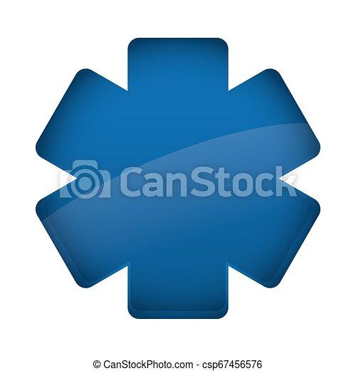 medical symbol cross icon - csp67456576
