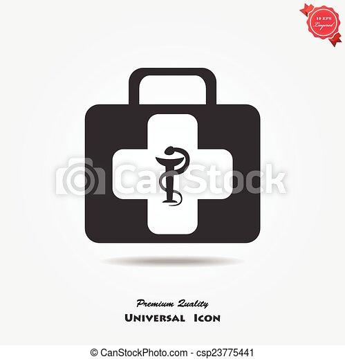 Medical symbol - csp23775441