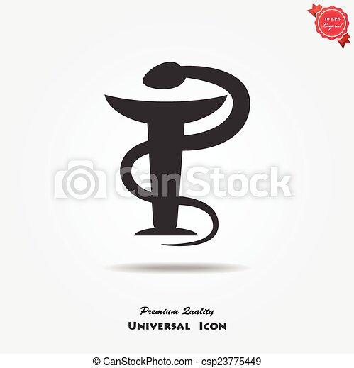Medical symbol - csp23775449