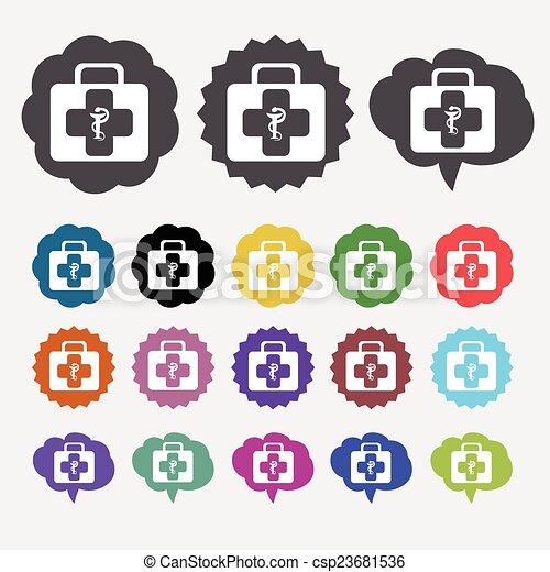 Medical symbol - csp23681536