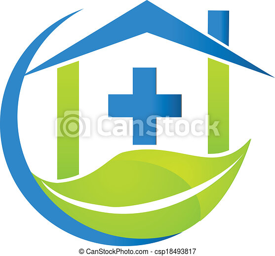 Medical symbol nature business logo - csp18493817