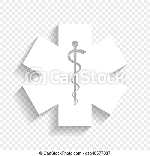 Medical Symbol Of The Emergency Or Star Of Life Vector Vectors