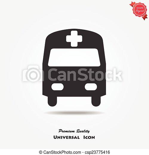 Medical symbol - csp23775416