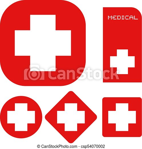 Creative Design Of Medical Symbols