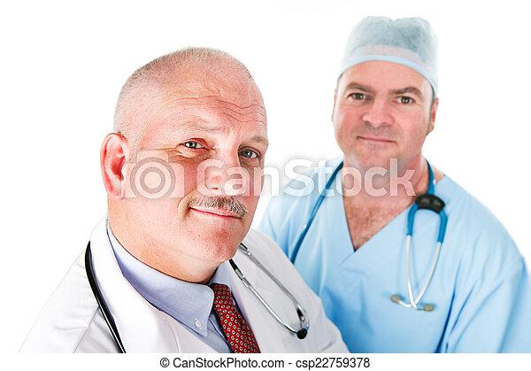 Medical Team of Doctors - csp22759378